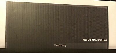 Meidong 3119 Bluetooth Speaker, 20W Portable Wireless Bluetooth 4.1 Speakers ...