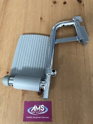 Roma Medical & Homecraft Shower / Commode Chair Chrome Left Footrest  - Parts