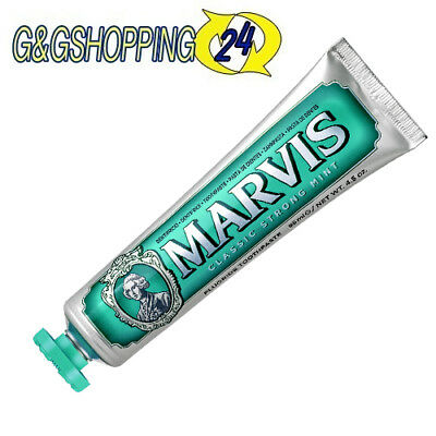 Marvis dentifricio 85 ml gusto classic strong mint