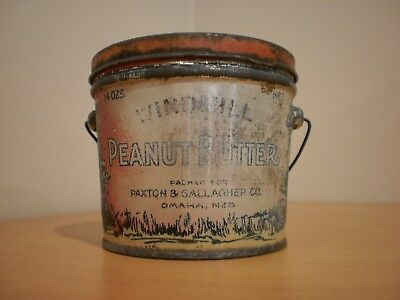 RARE Windmill Peanut Butter Tin