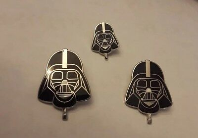 3 AIBF Albuquerque Intl Balloon Fiesta Official Darth Vader Balloon Pins