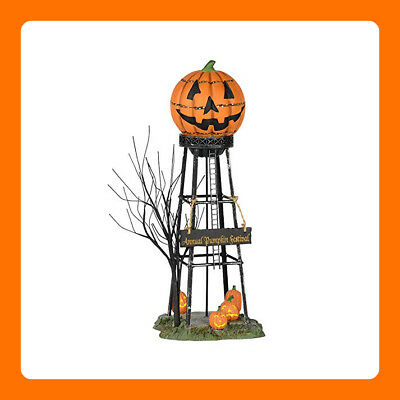 Department 56 Halloween Water Tower For Haunted House Party