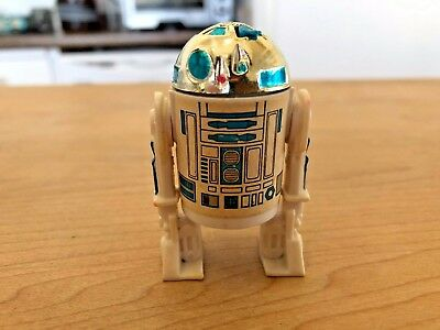 "Star Wars R2D2 Droid Empire Strikes Back Action Figure 2.25"" GMFGI 1977"