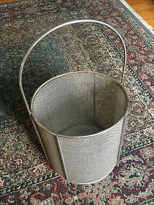 Heavy Duty Round Stainless Steel Basket Large 10x10