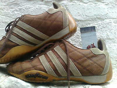 Torrente Ambigüedad escalada  VINTAGE ADIDAS TUSCANY trainers 6 /39.5 GOODYEAR Shoes Flat Laceup Leather  Suede - £95.00 | PicClick UK