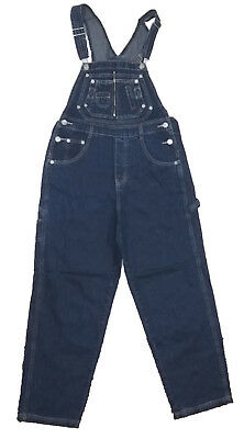 1bffb5327a5 L.A. Blues Women Overalls Blue Denim Bibs Size Small Medium Large S M L  Jumpsuit