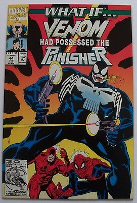 "What If #44. . .""Venom Had Possessed the Punisher?""-Marvel, Dec. 1992-VF+"