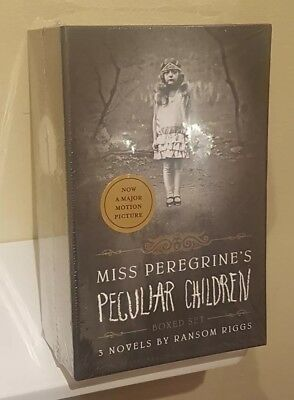 NEW Miss Peregrine's Peculiar Children Boxed Set by Ransom Riggs 9781594748387
