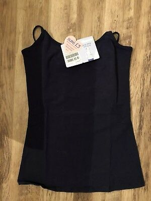 Jojo Maman Bebe ~ Midnight Blue Secret Support Feeding Top ~ Size S Bnwt