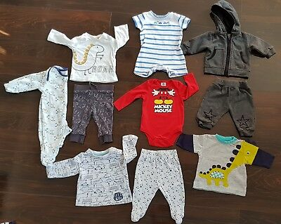 Baby Boy unisex clothes Big Bundle 0-3 Months Winter Outfits clothes bundle