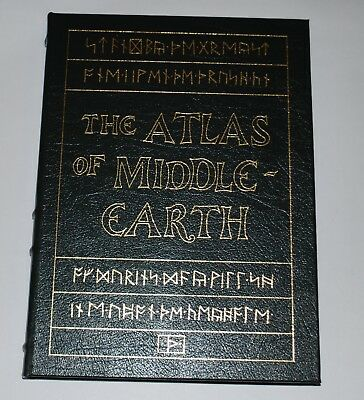 Easton Press THE ATLAS OF MIDDLE EARTH by K.W. Fonstad J.R.R. Tolkien