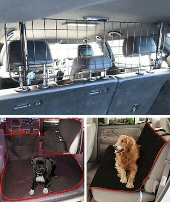 Mesh Dog Guard & Seat Boot Cover For TOYOTA LAND CRUISER 09-ON