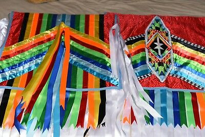 Native Regalia Items - Very colorful outfit - Grass Dance!