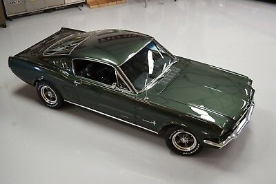 1966 Ford Mustang FASTBACK tunning paint, STRONG 289, excellent OPTIONS, cold AC - watch TEST DRIVE video