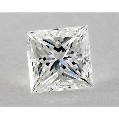 White J Color Loose Moissanite Princess Cut 5.50 MM to 9.50 MM VVS, For Jewelry