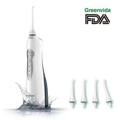 Water Flosser, Electric Cordless & Rechargeable Portable Oral Irrigator With...