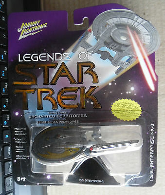 Legends of Star Trek Uncharted Territories I.S.S. Enterprises NX-01 - Check Pics