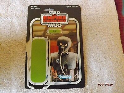 Star Wars  2 - 1B  Action Figure card only!