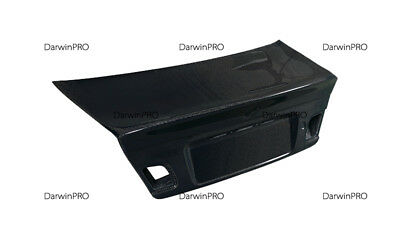 2001-2006 BMW 3 Series & M3 E46 2DR Coupe CSL Style Carbon Fiber Trunk High Kick