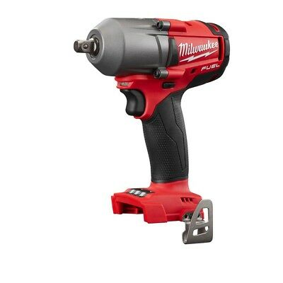 """Milwaukee 2860-20 M18 FUEL Mid-Torque 1/2"""" Pin Detent Impact Wrench Bare Tool NW"""