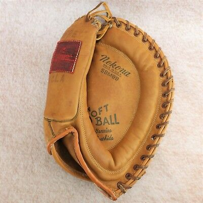 Rare Vintage Nokona Classic SBM89 Softball Baseball Glove Made in USA Cowhide