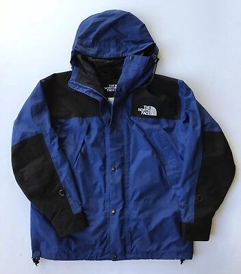 Vintage The North Face Gore-Tex Mountain Light Parka Jacket Mens Large Blue 90s
