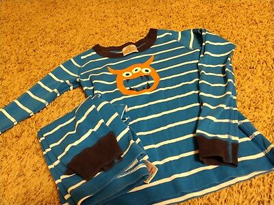 Hanna Andersson Monster Pajamas in boys size 8