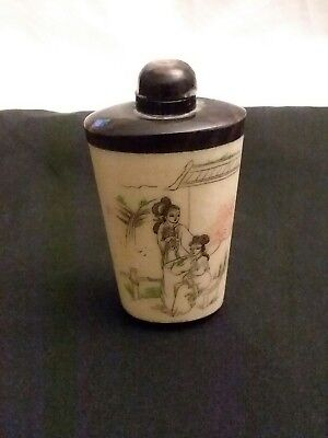 vintage chinese snuff bottle