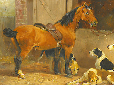 Original Joseph Henry Sharp Antique Signed & Dated Oil/Canvas Painting With Coa.