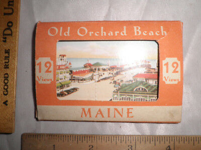 Antique 12 Views Old Orchard Beach, Maine Mailer