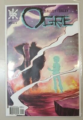 Ogre #1 Source Point Press First Print SOLD OUT NEAR MINT LOW PRINT