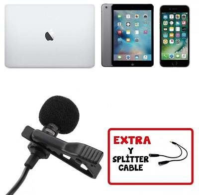 Professional Lavalier Lapel Microphone with Easy Clip On System...