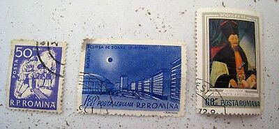 Romania stamps - used