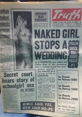 The Truth Newspaper  25 May 1968