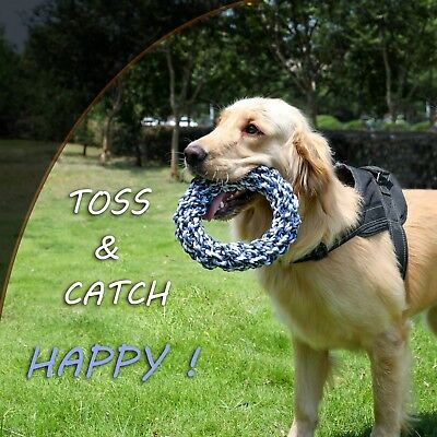 Dog Pet Rope Toys Chews Cotton Indestructible Knot Ball Teeth Chewing Pets Play