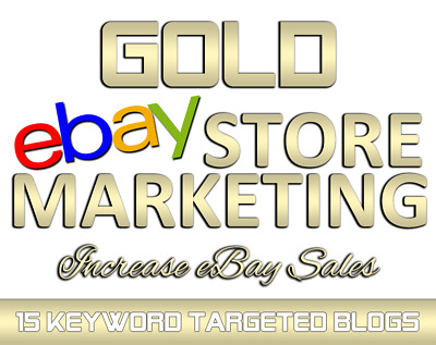 DYNAMIC eBay Marketing and Blog Design with 10 eBay listings promoted!