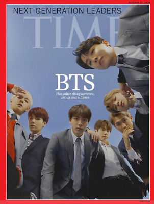 BTS TIME Weekly Asia October 22,2018 Edition Coverman BTS Magazine Interview