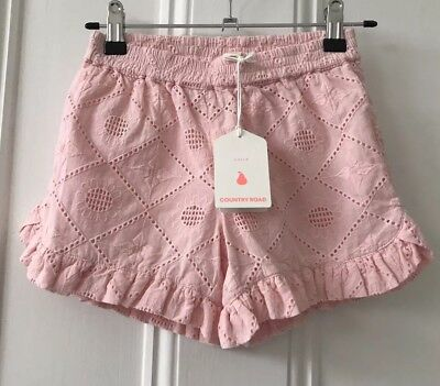 Country Road Girls Broderie Ruffle Skort Size 8 Years RRP$54.95