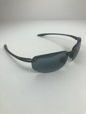 "ed83687837 MAUI JIM HO""OKIPA MJ Sport 407-02 64[]17 Black Sunglasses #100 ..."