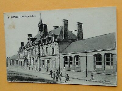 FISMES  (Marne) -- Le Groupe Scolaire - ANIMEE
