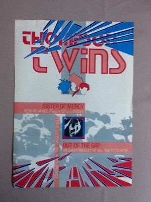 Thompson Twins - Sister Of Mercy - Advert / Poster - 29.5cm x 21cm