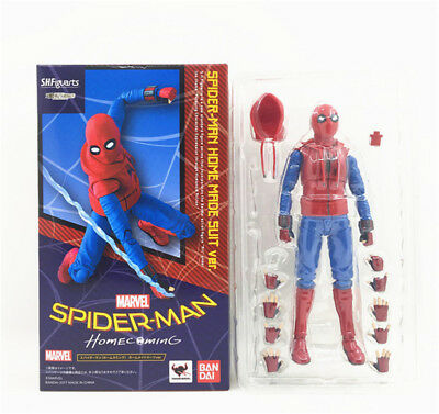 SHF S.H.Figuarts Marvel  Homecoming Spiderman Hero Action Figure Toy
