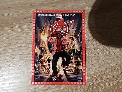 "2013 Upper Deck Marvel Now! #112-DP ""Avengers"" #1"