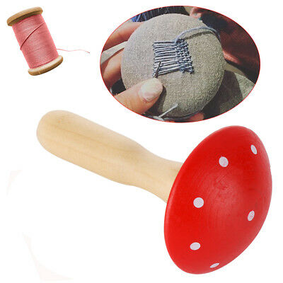 Darning mushroom patching tool Socks Sewing Tools sewing Wood Mending Device BN