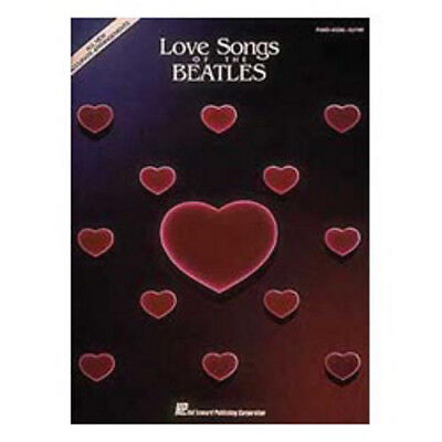 Hal Leonard Love Songs of the Beatles. Free Delivery