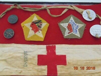 U.S.A. 2nd Div. 9th Inf. WW-1 Named grouping