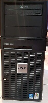 Acer Altos G520 Server 2x Intel Xeon CPU's 2GB RAM