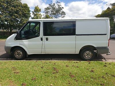 2008 ford transit van turbo diesel 5 speed