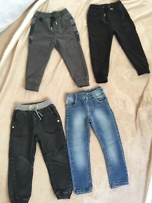 Boys Trouser Bundle 3-4years. *Next* *F&F* *George* Good Condition *Winter*