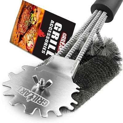 Grill Brush and Scraper -User Definable BBQ Grill Accessories Cleaner Brush -